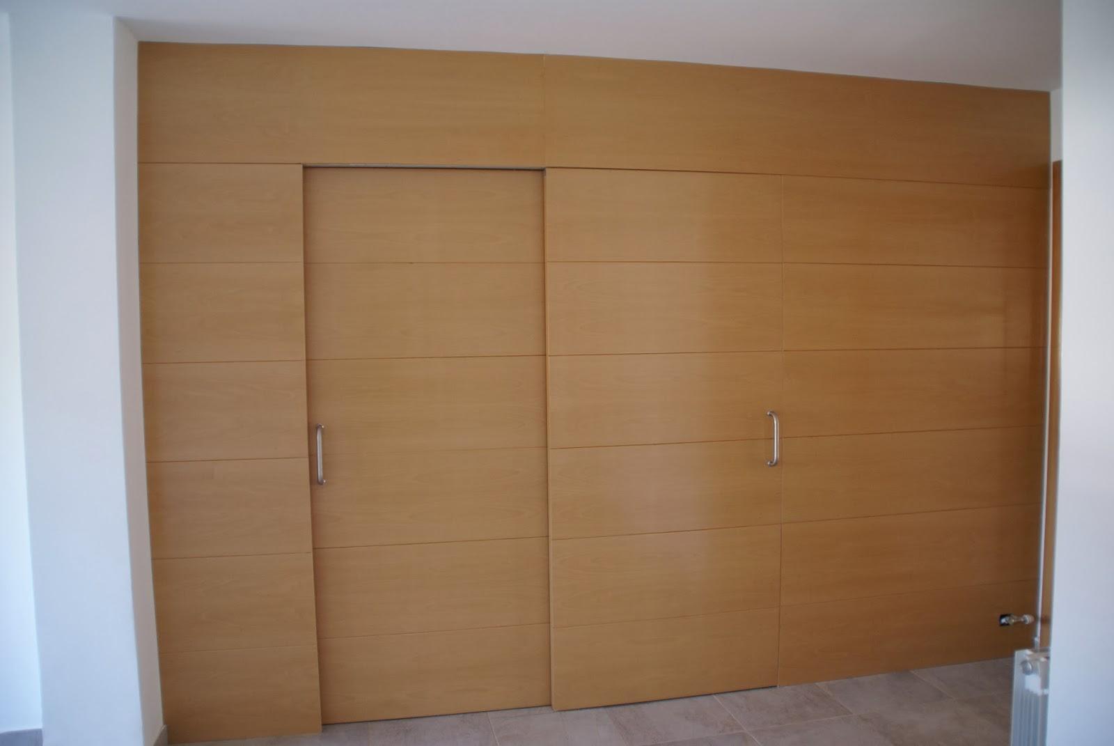 Como ganar espacio en tu casa sin cambiar de vivienda vi - Puerta corredera doble hoja ...